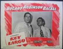 Key Largo, où Edward G. Robinson incarne le gangster psychopathe qui prend les clients de l'hôtel en otages