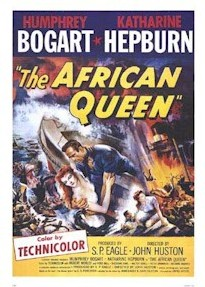 The African Queen, avec Katharine Hepburn