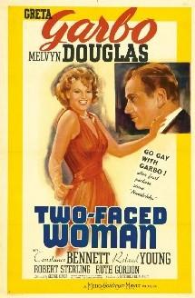 Une affiche de A woman's face