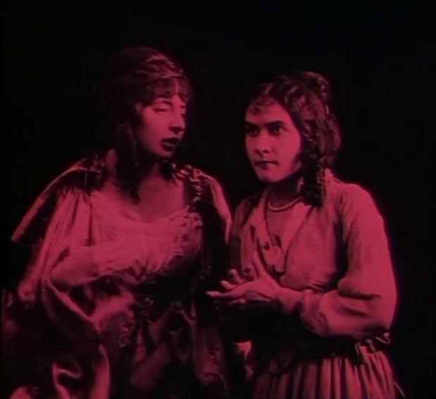 L'assassinio del corriere di Lione (1916) de Giovanni Vidali  : la diligence attaquée