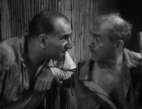 Chéri-Bibi (1938) de Léon Mathot : la tentative d'évasion sur le bateau