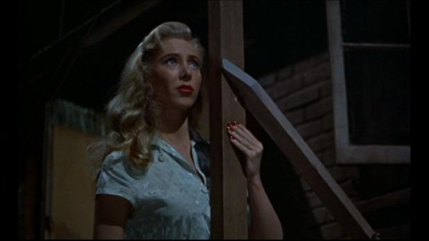 Georgine Darcy est mademoiselle Torso dans Fenêtre sur cour