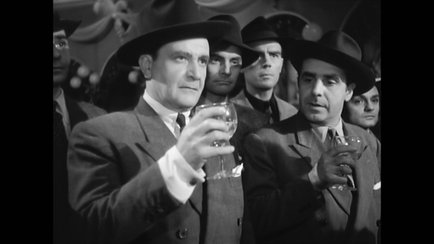 Miroir (1947) de Raymond Lamy : guerre des gangs en vue; et la chanson de Colette Mars (HD)