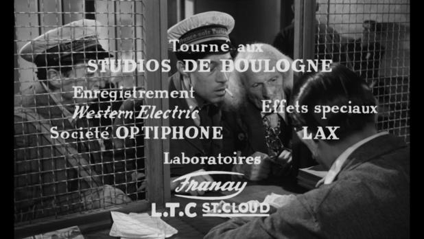 125 rue Montmartre (1959) de Gilles Grangier : le mari tué; et le clown Julien (HD)