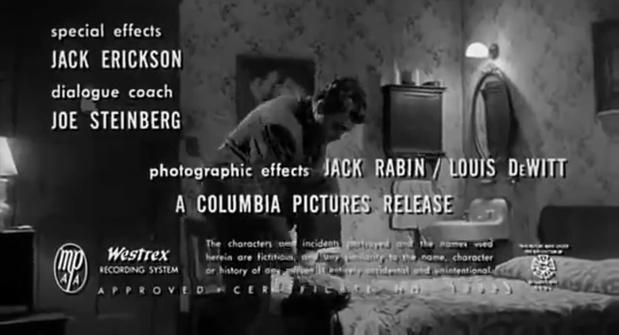 Murder by contract (Meurtre sous contrat, 1958) d'Irving Lerner : la fin