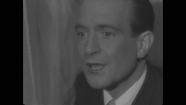 Pierre Fresnay dans le film Le roman d'un jeune homme pauvre, d'Abel Gance