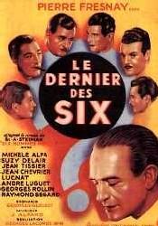 Le dernier des six, de Lacombe, d'après Six hommes morts, de Steeman