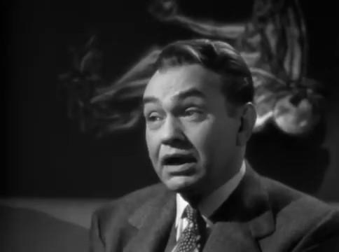 Edward G. Robinson dans le film The woman in the window