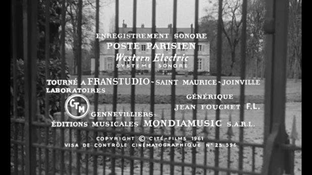 Générique du film Le président (1961) de Henri Verneuil