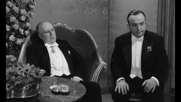 Louis Seigner et Bernard Blier dans le film Le président