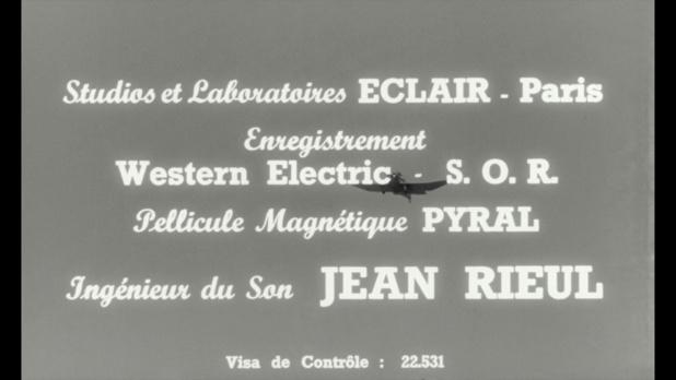 Générique du film Le baron de l'écluse (1960)