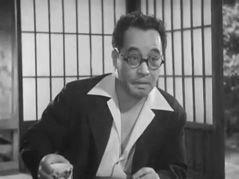 Denjirô Ôkôchi dans Monsieur Shosuke Ohara, de Hiroshi Shimizu