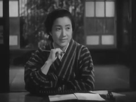 Akiko Kazami dans Monsieur Shosuke Ohara, de Hiroshi Shimizu