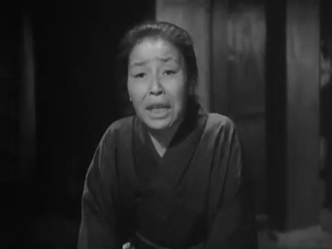 Chôko Iida dans le film Monsieur Shosuke Ohara (1949)