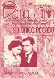 Une affiche de Cynara