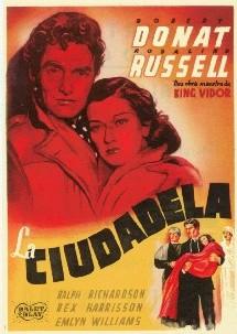 Une affiche espagnole de The citadel