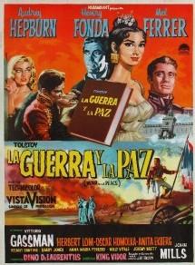 Une affiche espagnole de Guerre et paix