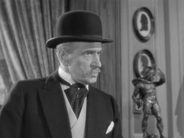 Frederic Worlock dans le film La clef (1946)
