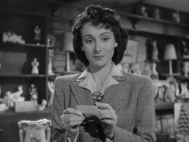 Patricia Cameron dans le film La clef (1946)