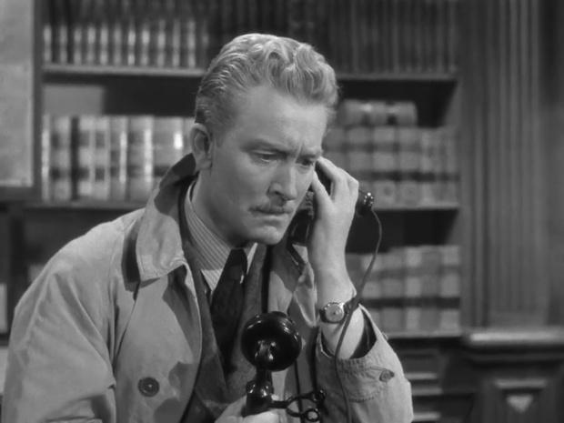 Carl Harbord dans le film Sherlock Holmes et la clef (1946)
