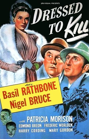 Affiche du film Dressed to kill (1946)