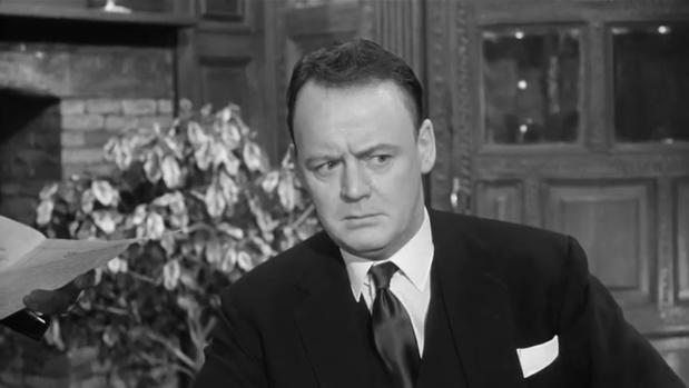 Robert Urquhart dans le film Murder at the Gallop (Meurtre au galop, 1963) de George Pollock