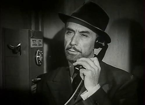 Victor Francen dans le film L'homme du Niger (1940) de Jacques de Baroncelli
