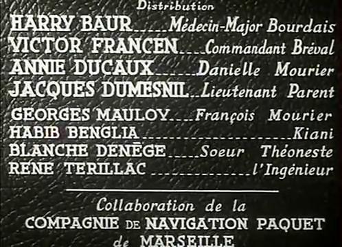 Interprètes du film L'homme du Niger (1940) de Jacques de Baroncelli