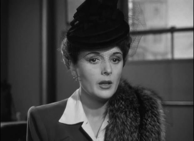 Mary Astor dans The maltese falcon  (Le faucon maltais, 1941) de John Huston