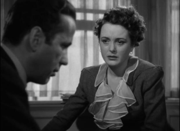 Humphrey Bogart et Mary Astor dans le film The maltese falcon  (Le faucon maltais, 1941) de John Huston