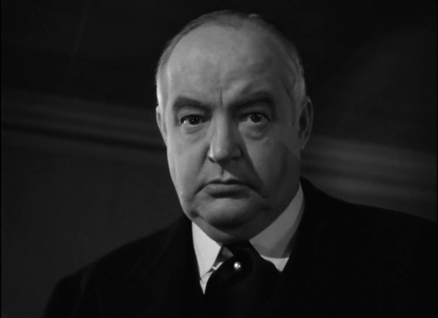 Sydney Greenstreet dans le film The maltese falcon  (Le faucon maltais, 1941) de John Huston