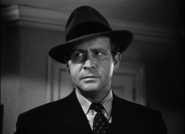Barton MacLane dans le film The maltese falcon  (Le faucon maltais, 1941) de John Huston