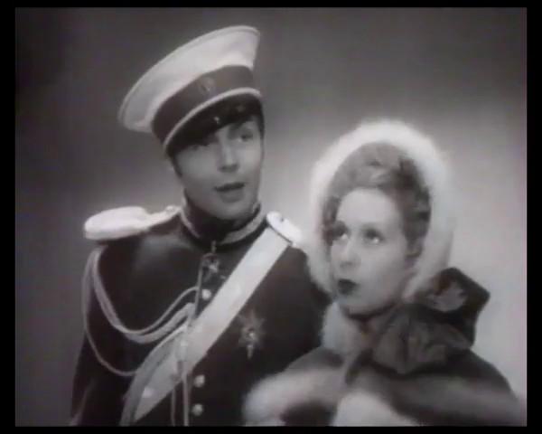 Gérard Landry et Josette Day dans Le patriote (1938) de Maurice Tourneur