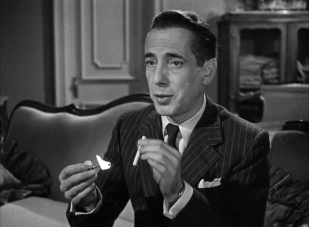 Humphrey Bogart dans Dark passage (Les passagers de la nuit, 1947) de Delmer Daves