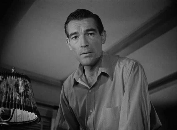 Rory Mallinson dans le film noir Dark passage (Les passagers de la nuit, 1947) de Delmer Daves