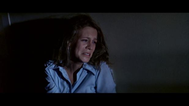 Jamie Lee Curtis dans Halloween (La nuit des masques, 1978) de John Carpenter