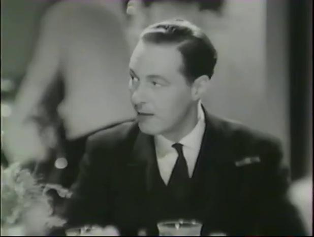 Kim Peacock dans le film français Alerte en Méditerranée (1938) de Léo Joannon