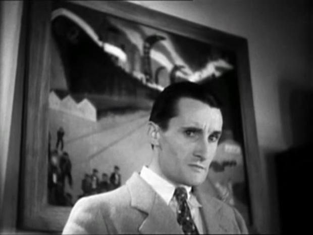 Robert Le Vigan dans le film Les cinq gentlemen maudits (1931) de Julien Duvivier