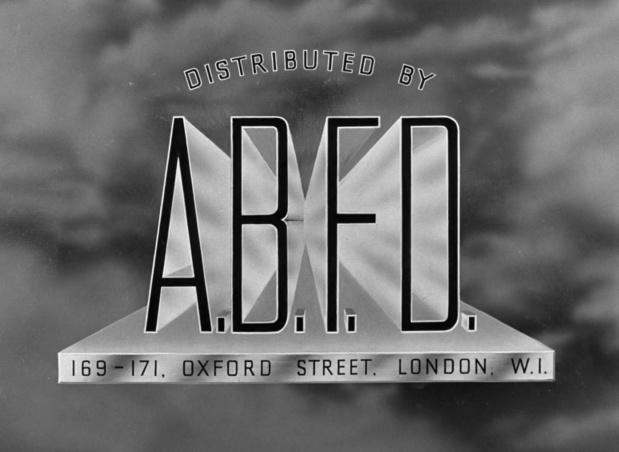 Générique du film The halfway house (L'auberge fantôme, 1944) de Basil Dearden