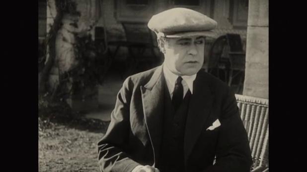 L'acteur Roger Karl dans La femme de nulle part (1922) de Louis Delluc