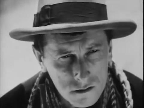 Charles Dullin dans le film muet Maldone (1928) de Jean Grémillon