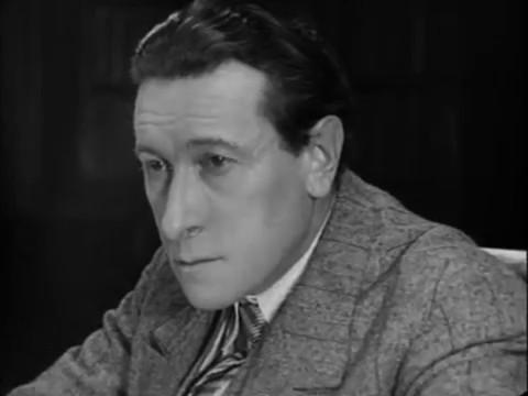 Charles Dullin dans Maldone (1928) de Jean Grémillon
