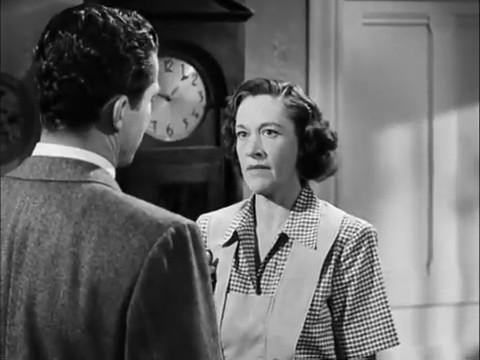 Anne Revere dans le film américain Fallen angel (Crime passionnel, 1945) d'Otto Preminger