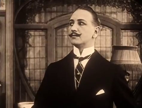 Georges Flateau dans Judex (1916) de Louis Feuillade