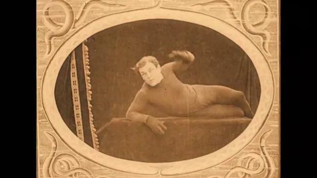 L'acteur Lucien Bataille dans le film Protéa (1913) de Victorin Jasset
