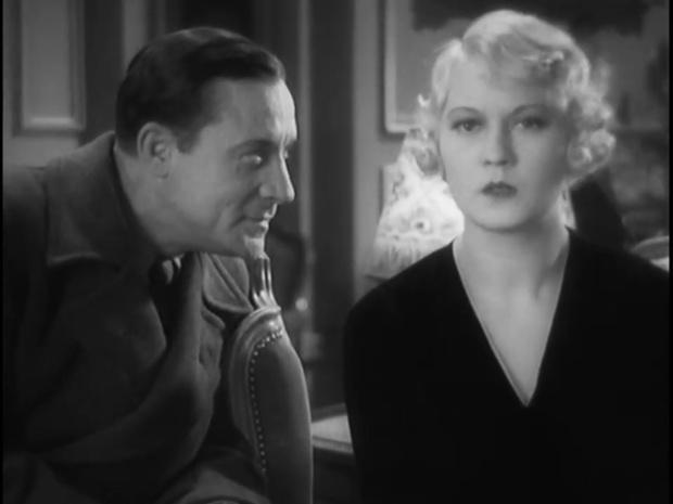 Thomy Bourdelle et Tania Fédor dans le film Fantômas (1932) de Paul Féjos