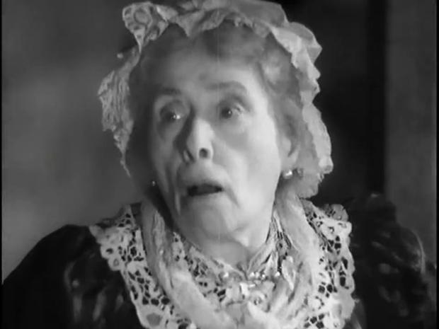 L'actrice Marie-Laure dans Fantômas (1932) de Paul Féjos