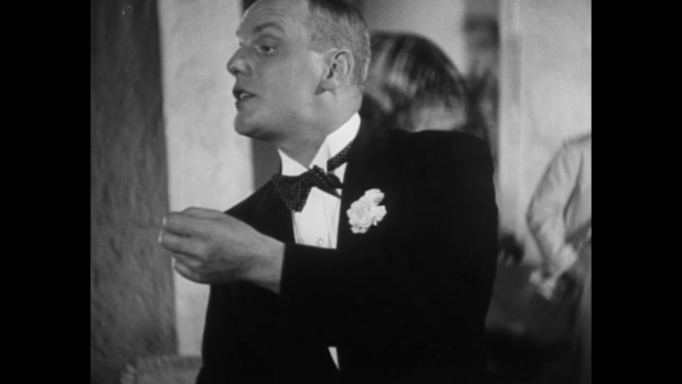Gustaf Grundgens dans le film Le tunnel (1933) de Kurt Bernhardt