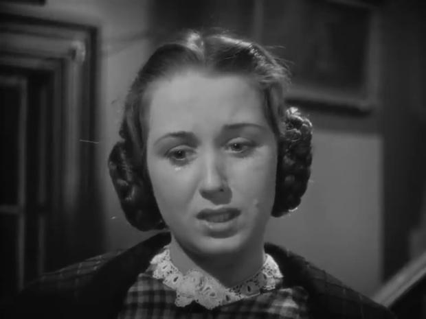 Florette Hillier dans une enquête de Sherlock Holmes : The house of fear (La maison de la peur, 1945) de Roy William Neill