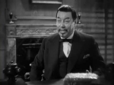 Warner Oland dans le film policier Charlie Chan in London (1934) d'Eugene Forde